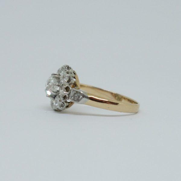 bague marguerite diamant 1900