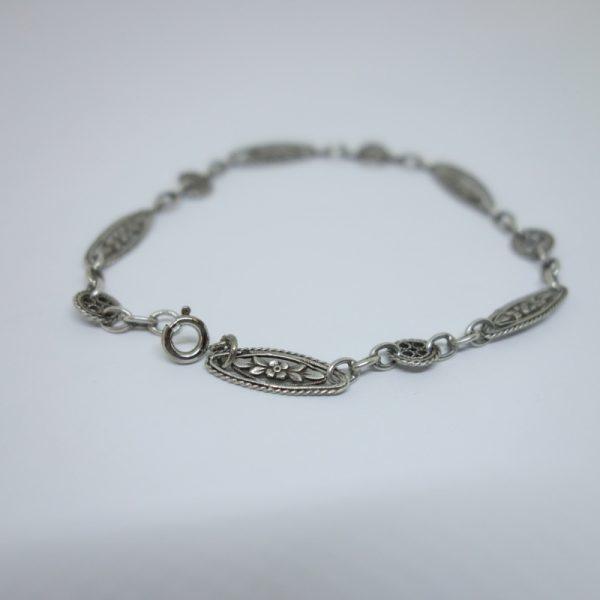 bracelet argent maillon original