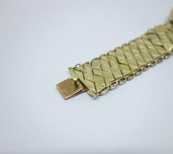 bracelet or et grenats avec demi-perles fines napoléon III
