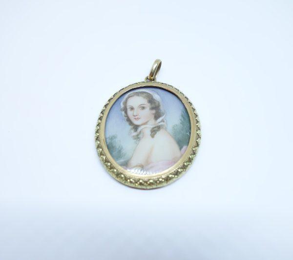 pendentif or 1811