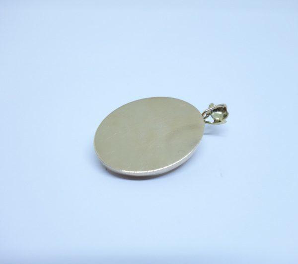 pendentif or ajouré avec perles