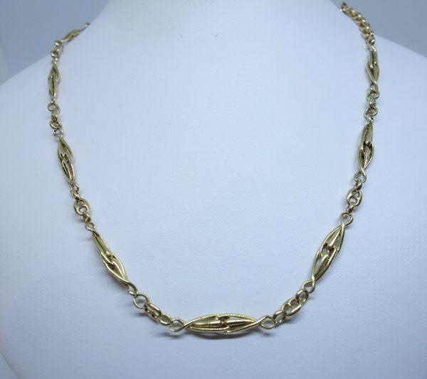 chaîne de montre or