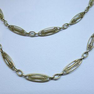 chaîne de montre femme or