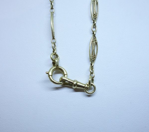 chaîne d montre femme en or