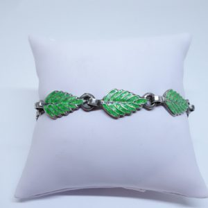 bracelet argent mexicain émaillé