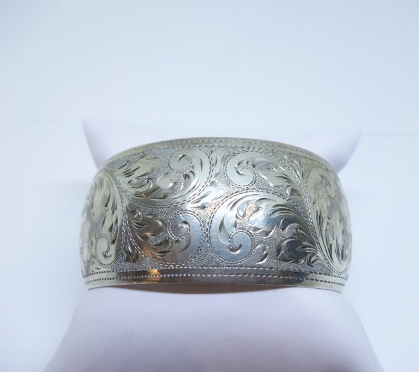 large bracelet argent 1925