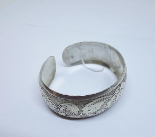 bracelet argent façon jonc ouvert 1925
