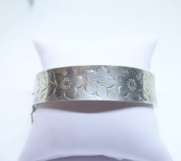 bracelet argent anglais