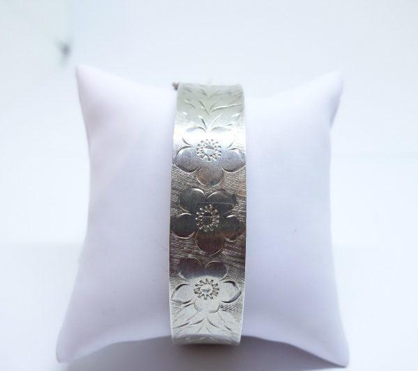 bracelet argent anglais 1975