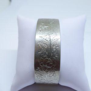 bracelet jonc argent ancien