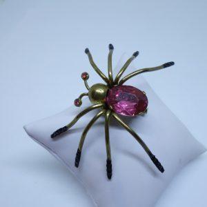 broche ancienne araignée 1930