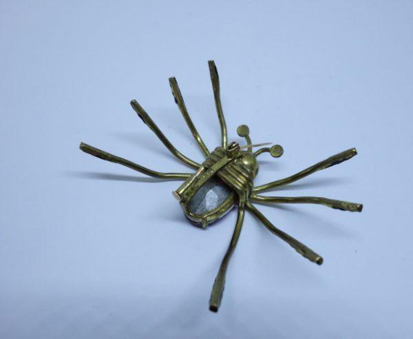 broche araignée ancienne 1930