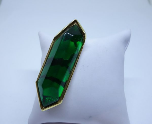 broche couturier Georges Rech Paris 1960-70